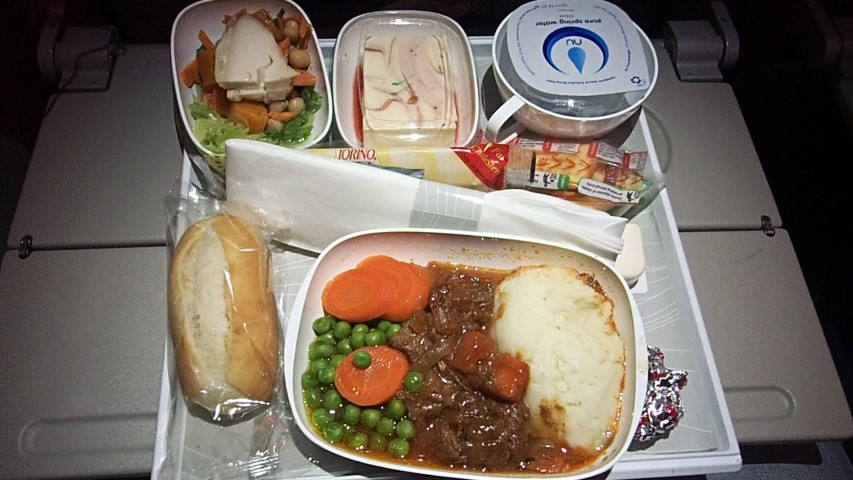 Food in Economy Class