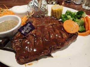 T-Bone Steak at Mike's Kitchen