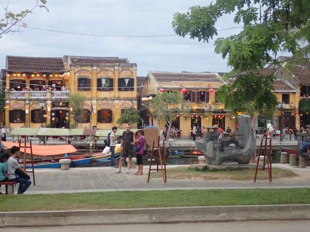 View from restaurants in Hoi An