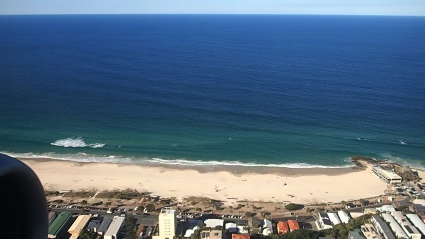 View of Gold Coast Beaches