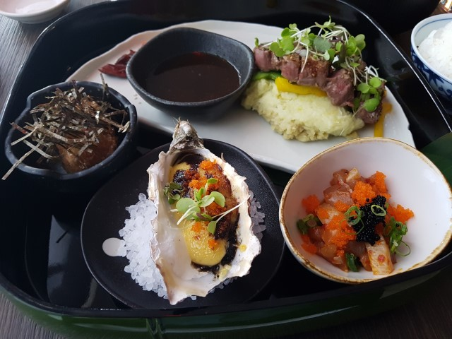 Luxury Bento at Kobe Jones Japanese Restaurant Sydney