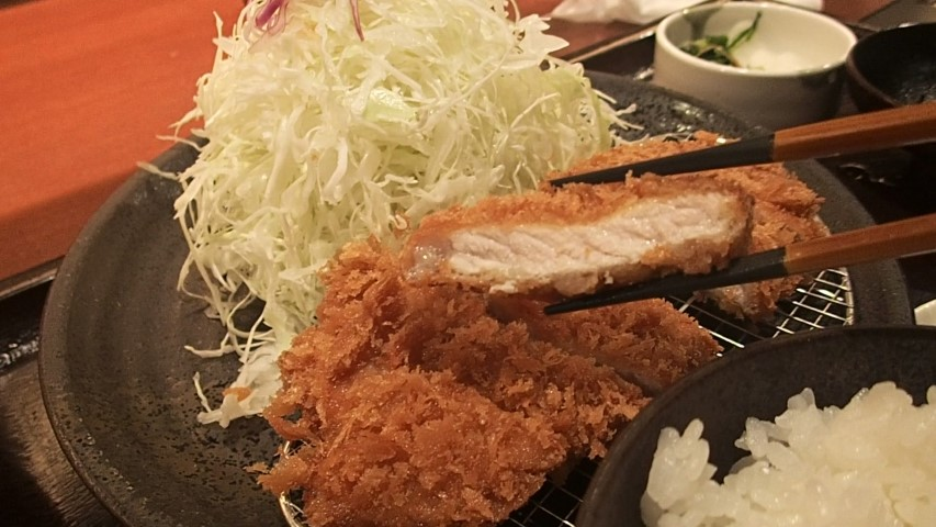 Good quality pork at Tonkatsu Wako