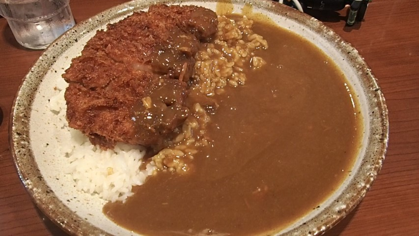 Hand made Tonkatsu Curry at Curry House CoCo Tokyo