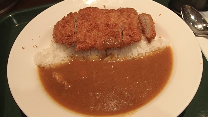Katsu Curry at Curry Shop C&C in Tokyo