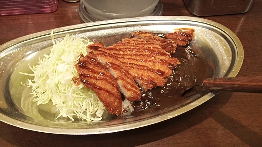 Katsu curry at GoGo Curry in Tokyo
