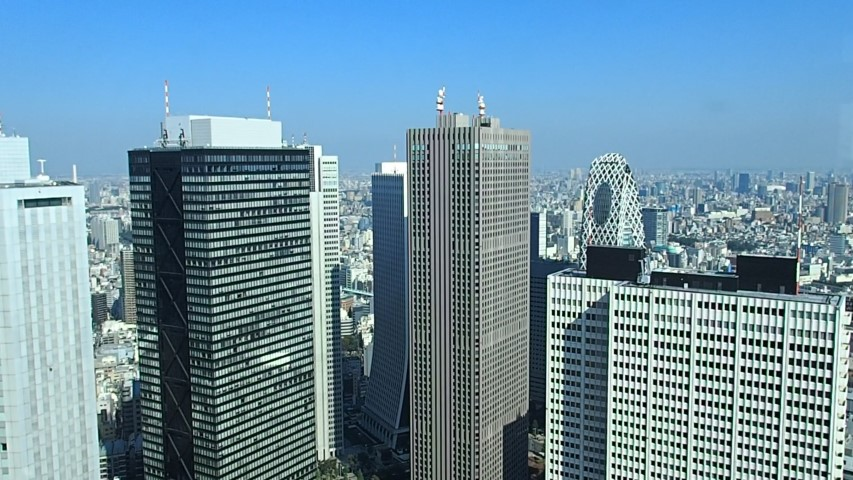 View of Shinjuku from Tokyo Metropolitan Government Building