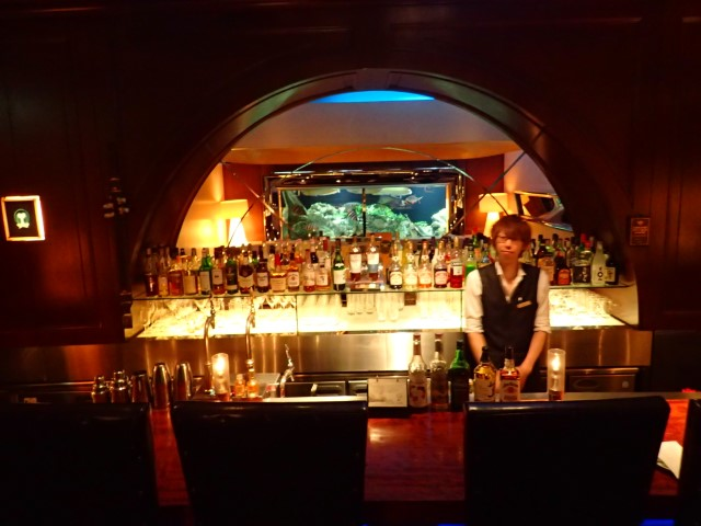 Bar at Den Aquaroom