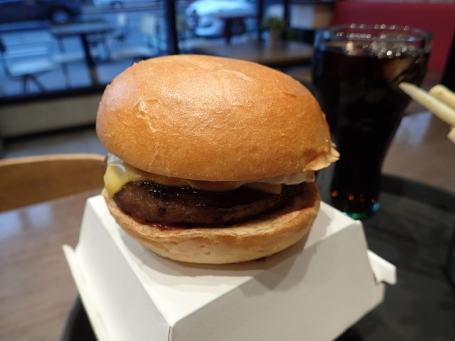 Cheese Burger at Goody's Burger House Melbourne