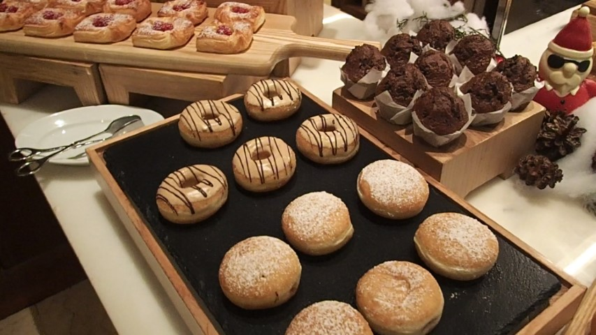 Fresh Baked pastries, muffins and donuts
