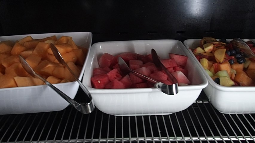Fresh Fruit at the Buffet Breakfast Hilton Adelaide Hotel