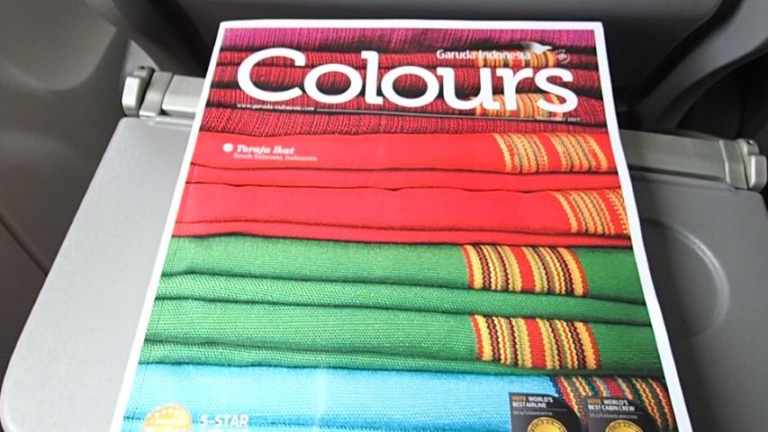 Garuda Indonesia Colours Inflight Magazine