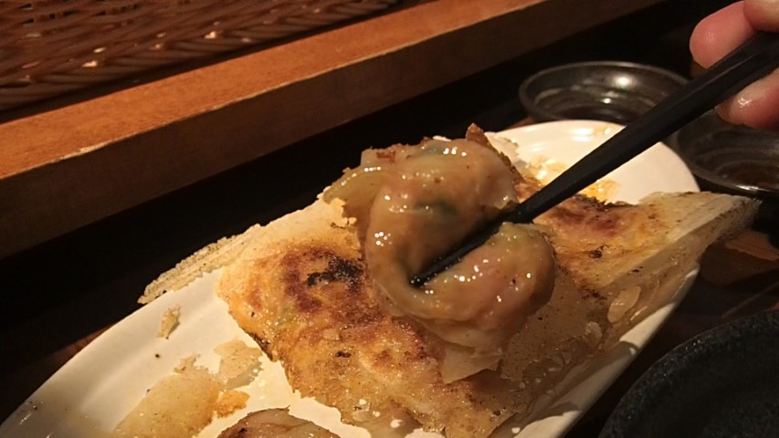Gyoza at BLG Gyoza Pub