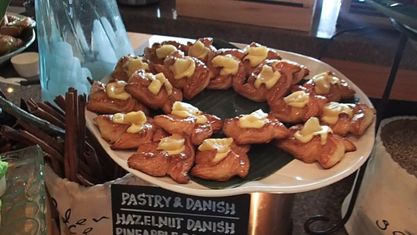 Pastries at the Buffet Breakfast Grand Hyatt Bali