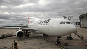 Qantas Sydney to Melbourne Business Class