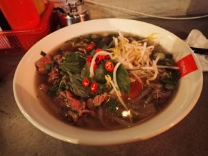 Sliced beef Pho at Twenty Pho Seven
