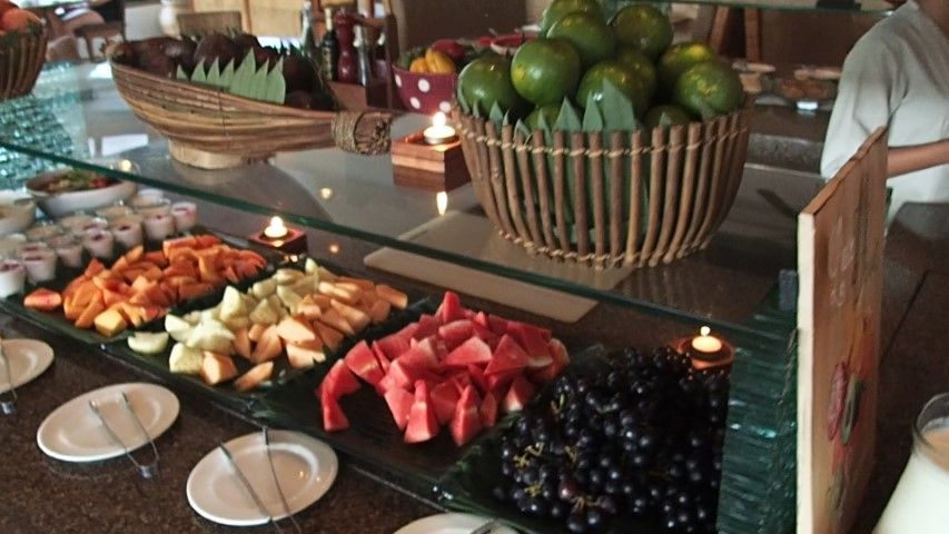 Tropical Fruit Buffet Breakfast at Grand Hyatt Bali