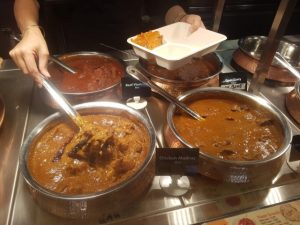 Curries at Fragrance of India Surfers Paradise
