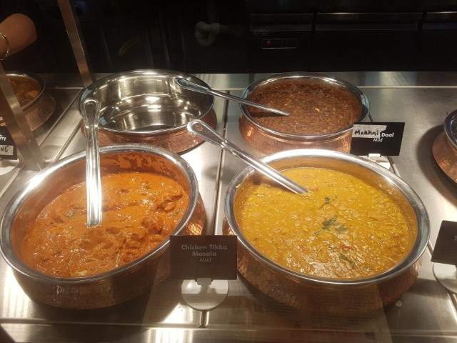 Curries at Fragrance of India