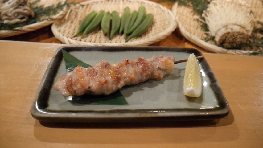 Chicken Skewer at Roppongi Robotaya