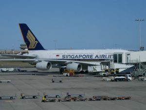 Flight Review Singapore Airlines SQ222