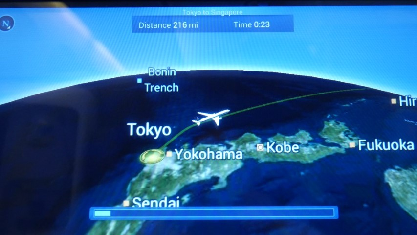 Flight Review Singapore Airlines Tokyo Narita to Singapore ...