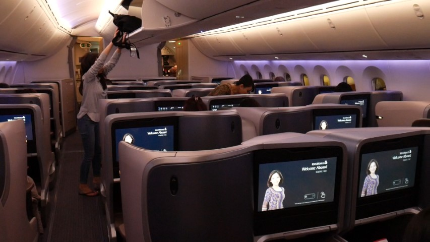 Inside the Singapore Airlines Dreamliner B787-10