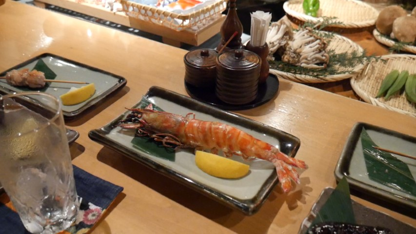 Prawn at Roppongi Robotaya
