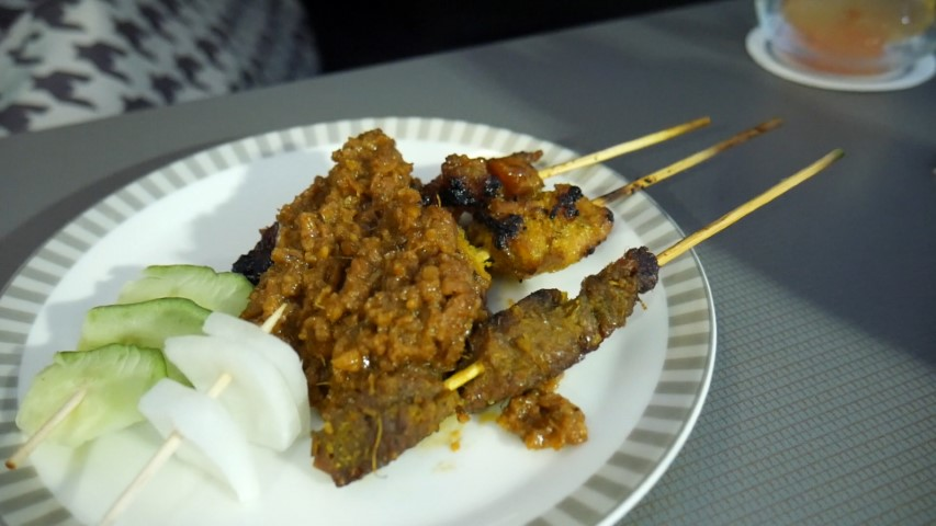Singapore Chicken and Beef Satay