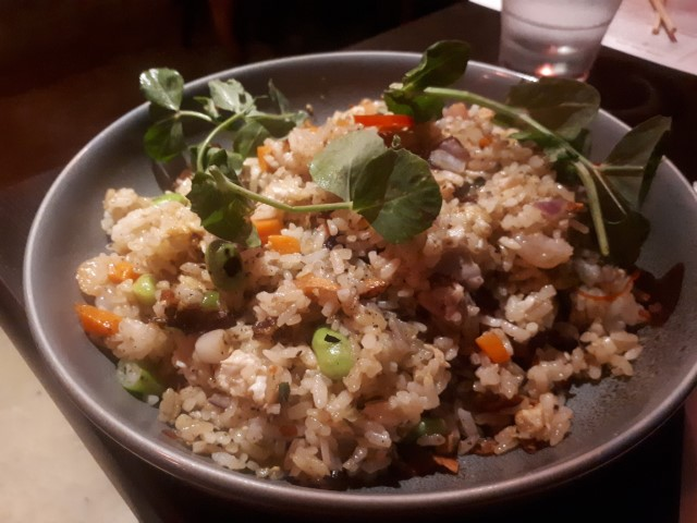 Fried Rice at Mr Hizolas Restaurant