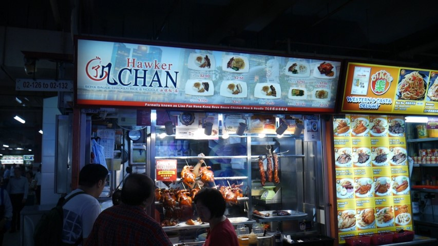 Hawker Chan at Chinatown Complex Food Centre