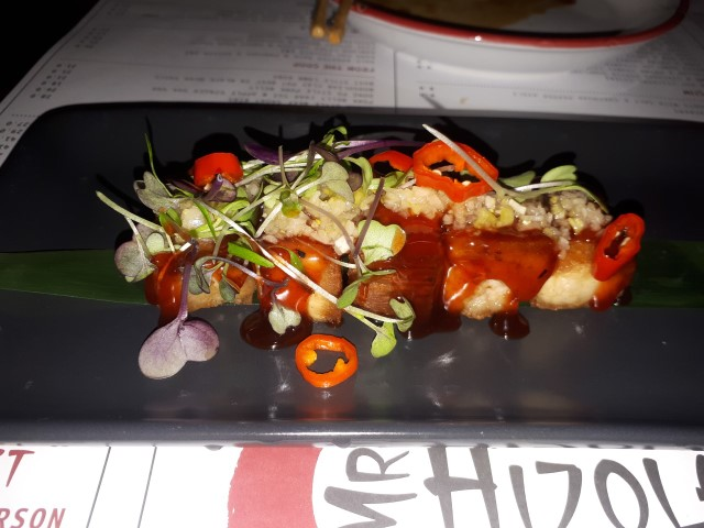 Pork Belly Char Sui at Mr Hizolas Restaurant