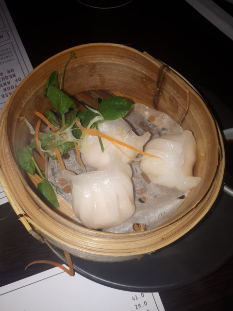 Prawn Dumplings at Mr Hizolas Restaurant