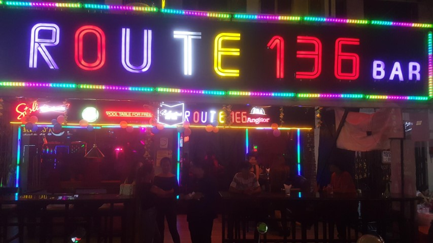 Route 136 Bar Phnom Penh