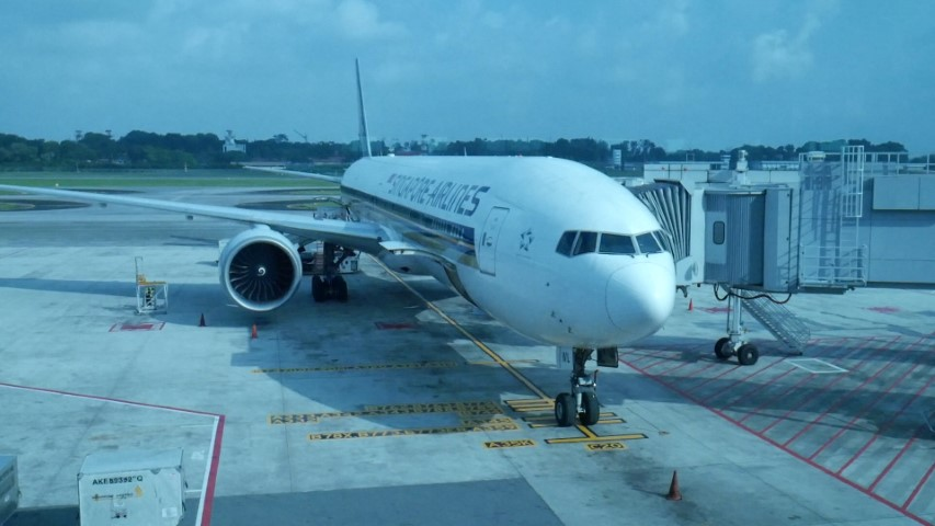 Singapore Airlines SQ211 Singapore to Sydney