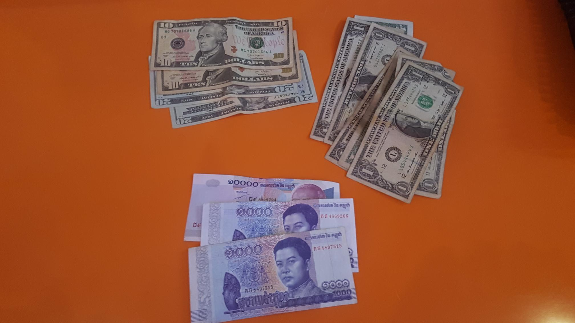 Currency in Cambodia