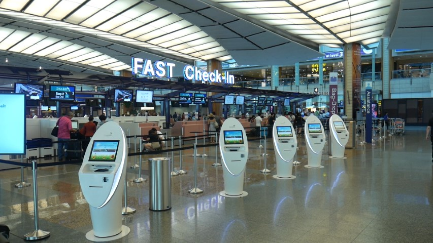 Silk Air Automated Check-in Kiosks