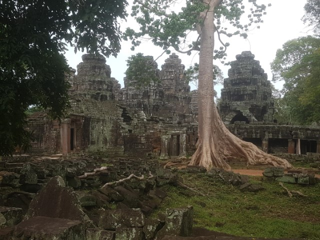 Tomb Raider Temple Siem Reap