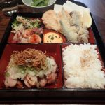 Lunchtime Bento Box at Sake Japanese Restaurant The Rocks Sydney