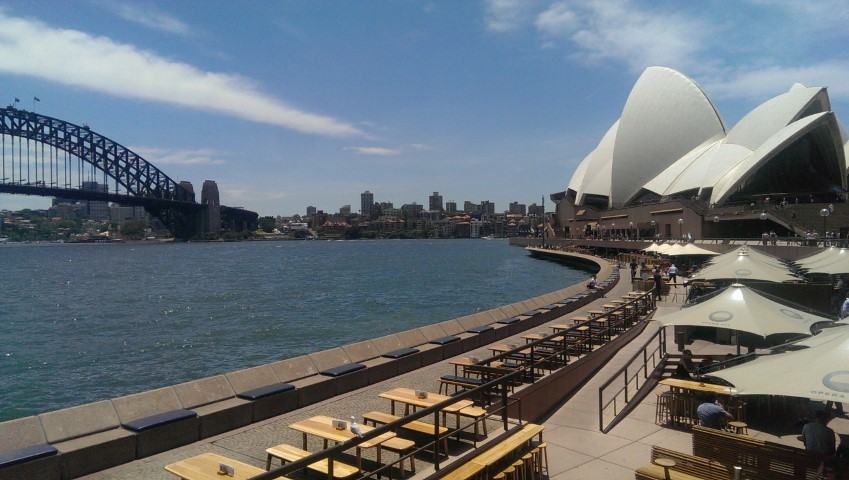 Great Views Of Sydney Harbour From Opera Bar Tripatrek Travel