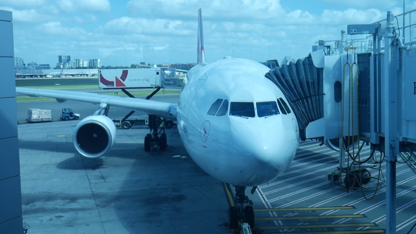 Flight Review Qantas A330-300 Sydney to Melbourne