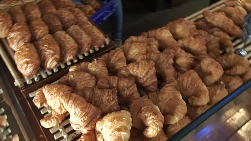 Freshly Bake Croissants at Monsieur Spoon Cafe Seminyak
