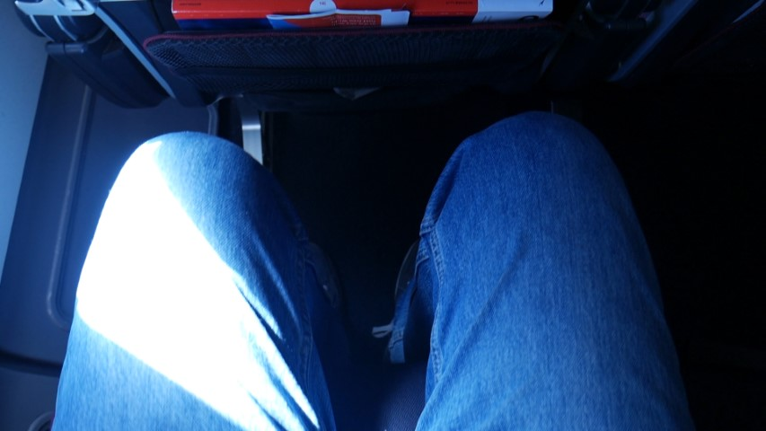 Good Leg Room on Qantas A330-300 Economy Class