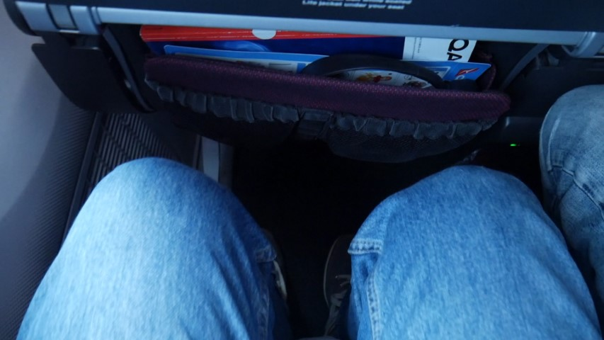 Good legroom on Qantas B787-9 Dreamliner