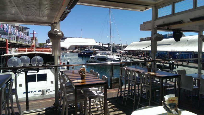 Helm Bar Darling Harbour Sydney
