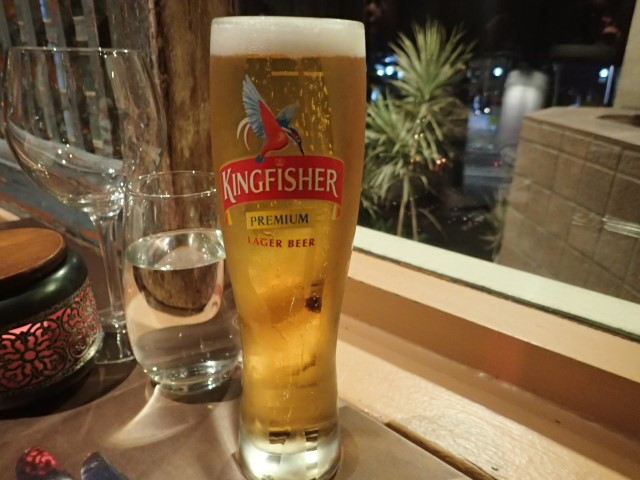 King Fisher Beer at The Spice Room Sydney