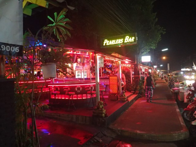 Little Pattaya Nightlife Area Koh Chang