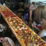 Longest Pizza in Sydney at Crinitis Italian Restaurant