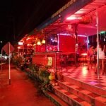 Nightlife Area of Koh Chang Island Thailand
