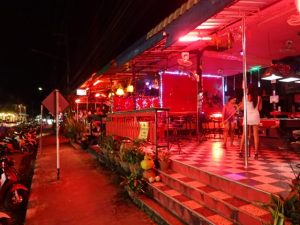 Nightlife Area of Koh Chang