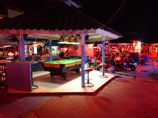 Nightlife at White Sand Beach Koh Chang
